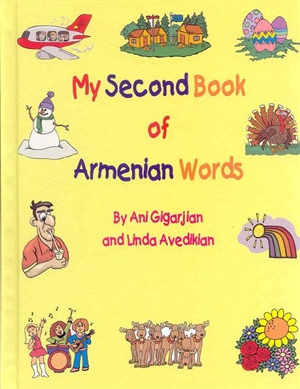 My second book of armenian words for Armenian cuisine book